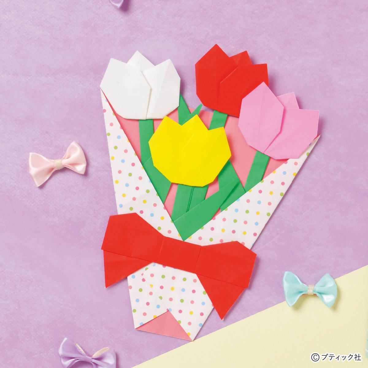 立体 花 折り紙