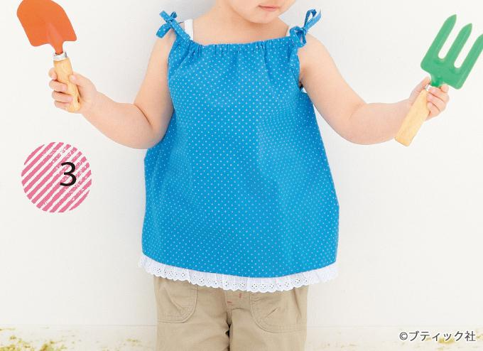 6ae755af06b80 簡単手作り!夏らしい子ども用のキャミソール&ワンピースの作り方 ...