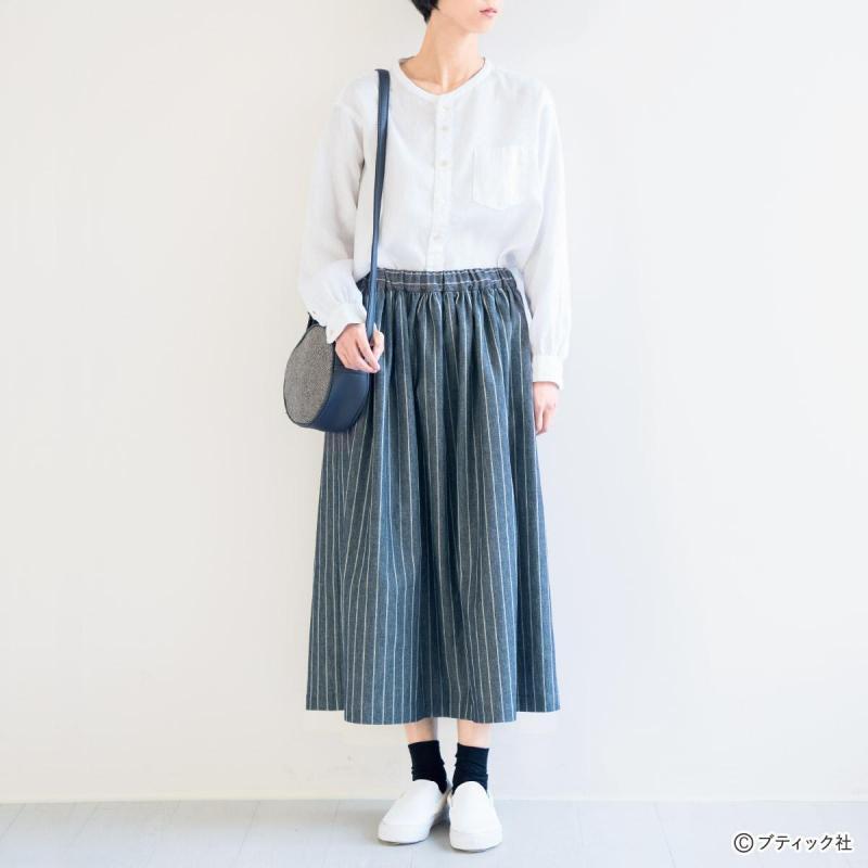 簡単手作り!ウエストゴムのカジュアルなスカートの作り方