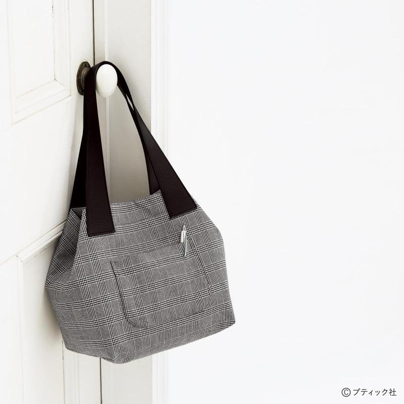 トートバッグにもなる!使いやすいおしゃれな2wayバッグの作り方