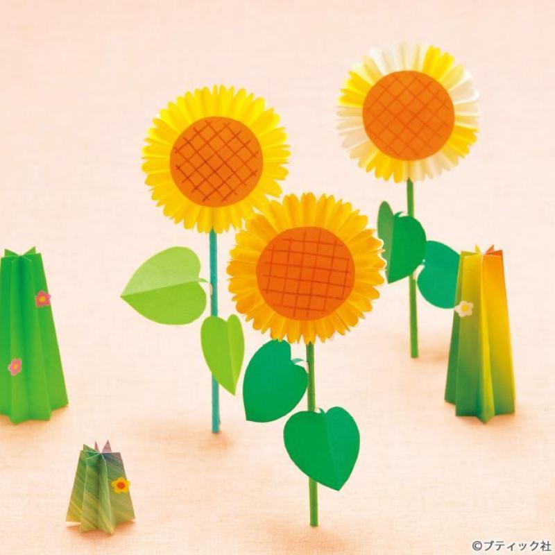 折り紙で作る花!簡単かわいい8作品♪