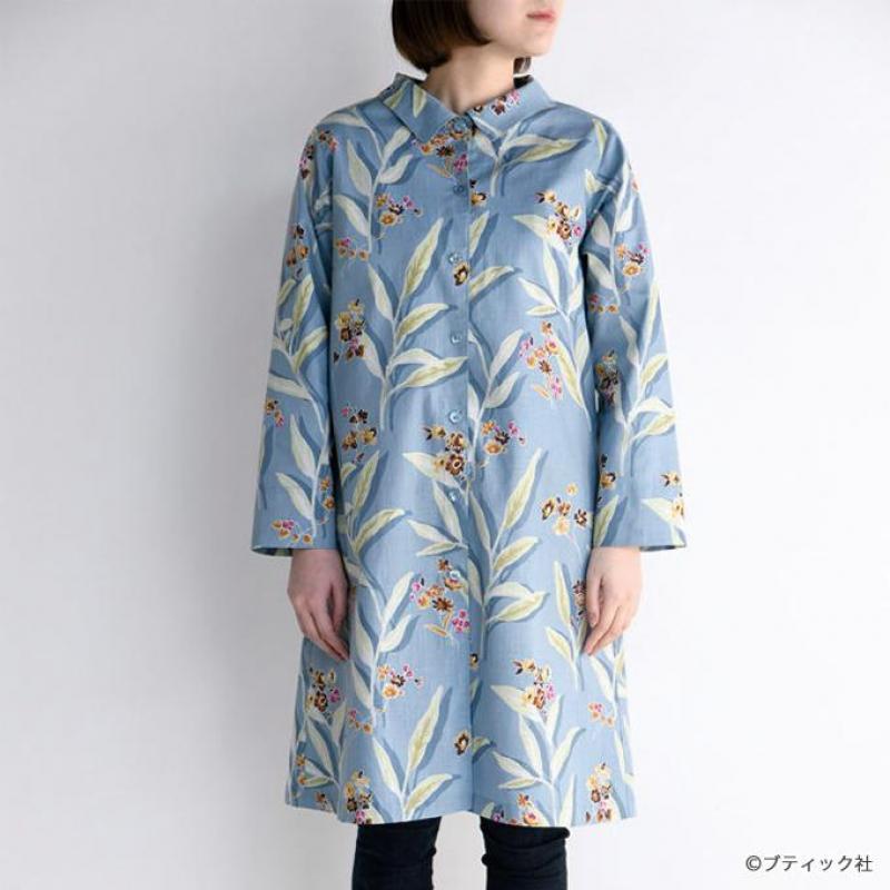 手ぬいのシャツワンピース&シャツの型紙・パターン(実物大)