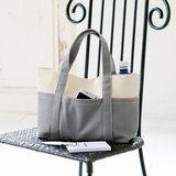 シンプルなグレーがおしゃれ!1枚仕立てで作る帆布のトートバッグの作り方