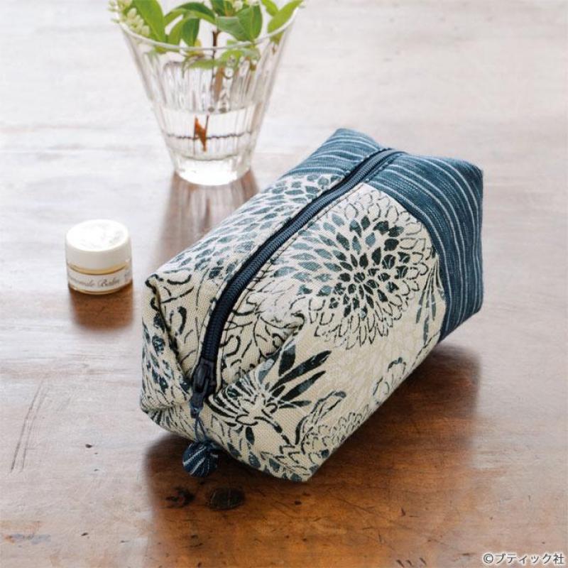 キャラメル包み&和柄のおしゃれポーチの作り方