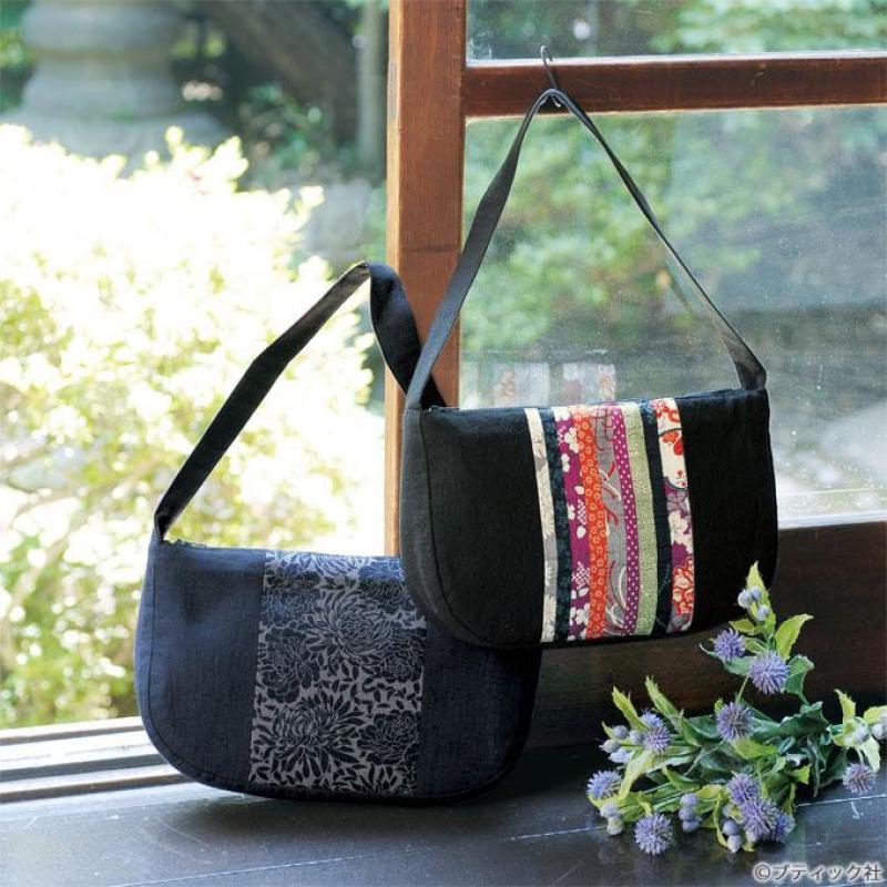 和柄のミニバッグの作り方