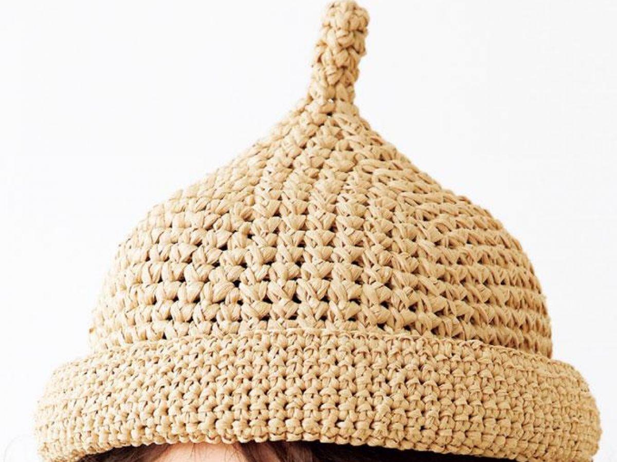 編み 子供 図 帽子
