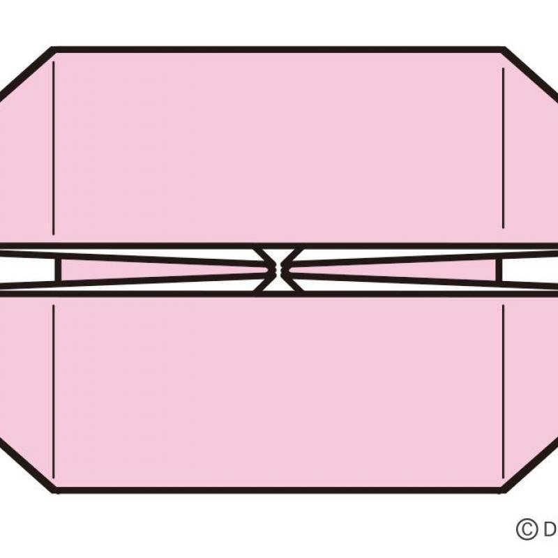 折り紙「かんのん基本形」と「にそうぶね基本形」の折り方