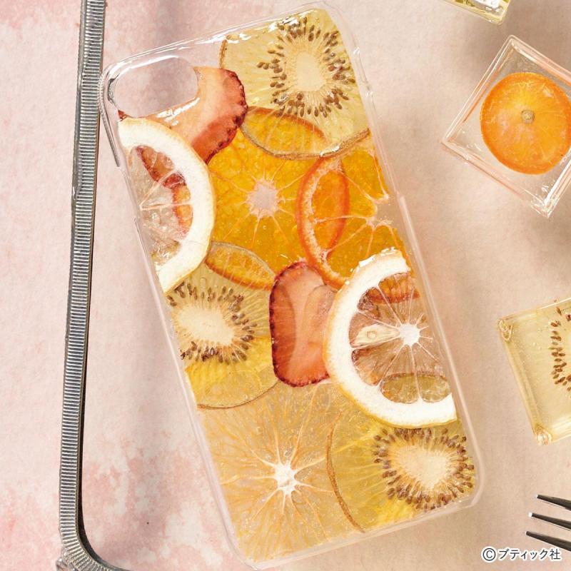 「押しフルーツのスマートフォンケース」の作り方