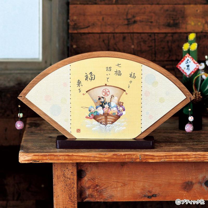トールペイント「七福神」の作り方(お正月準備)