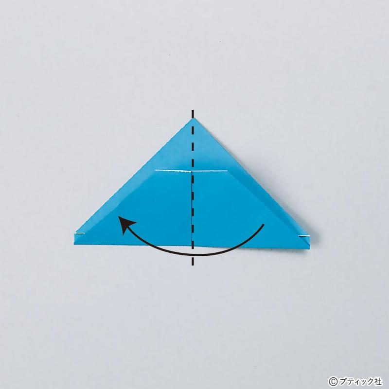 折り紙手芸の基礎「三角パーツの折り方」