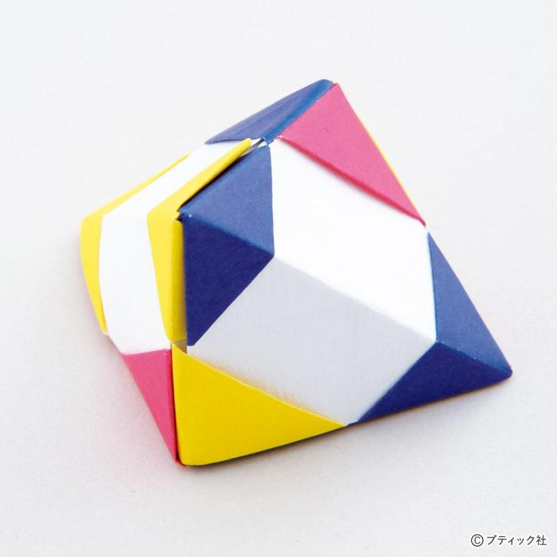 ユニット折り紙『3枚組の組み方』