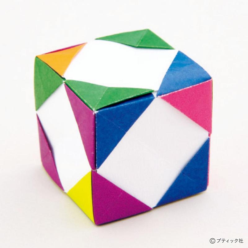 ユニット折り紙『6枚組の組み方』