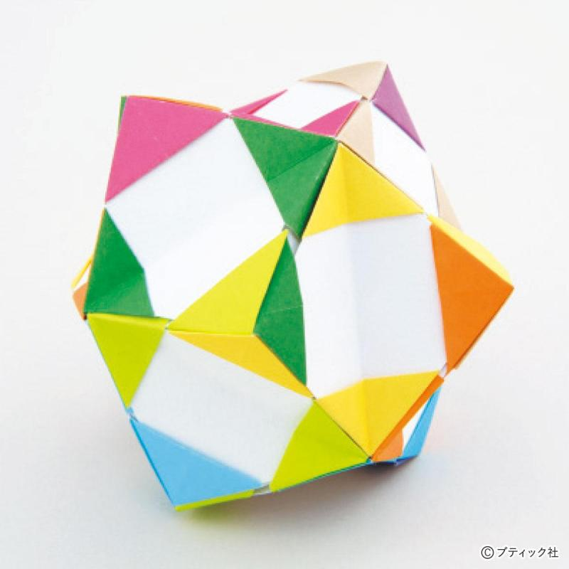 ユニット折り紙『12枚組の組み方』