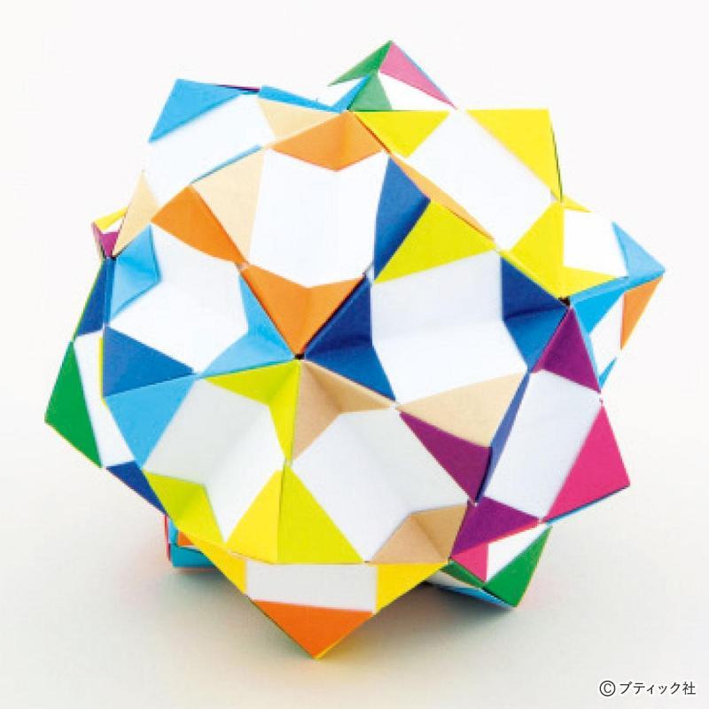 ユニット折り紙『30枚組の組み方』