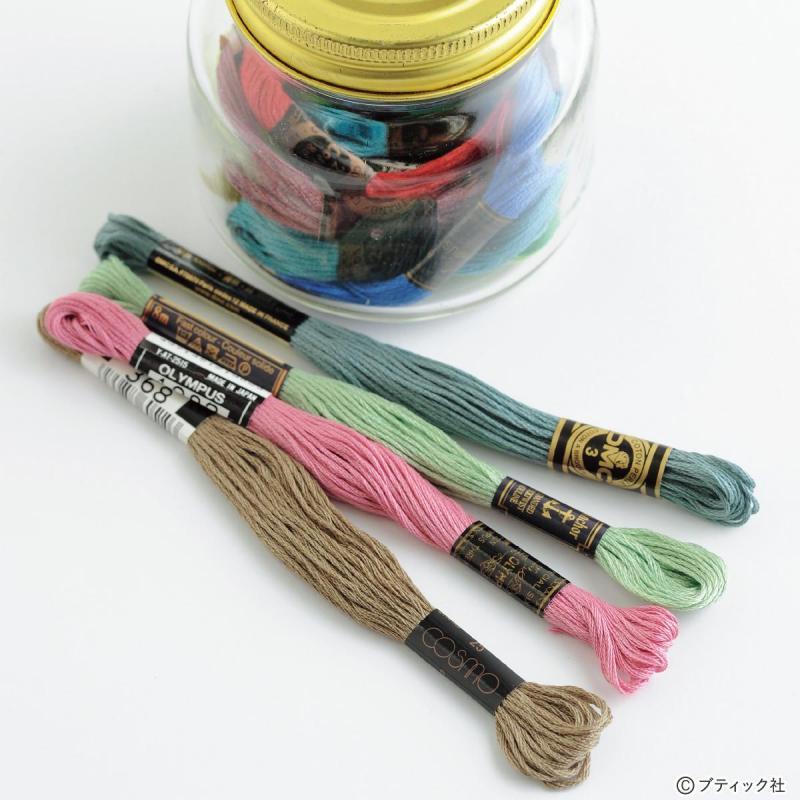 刺しゅうの基礎「糸、針、布」について