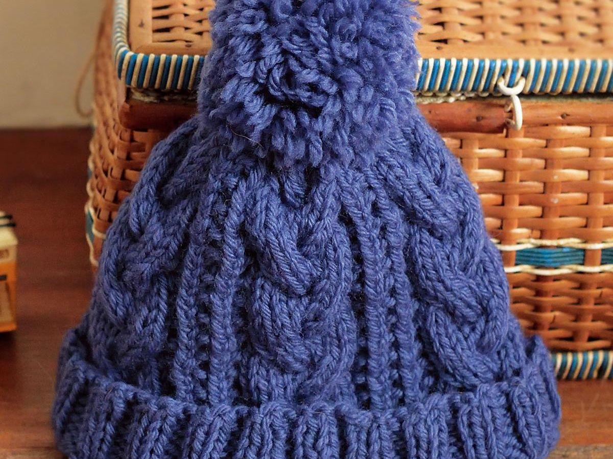 ニット 棒針 編み 大人 帽子 方 の の 初めてのニット帽、輪針で簡単に編めるポイント紹介します。