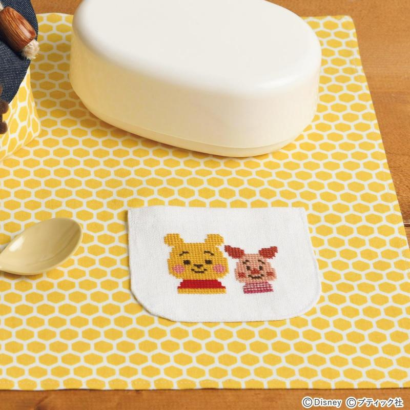 ディズニーKIDEA「プーさんのランチョンマット」の作り方