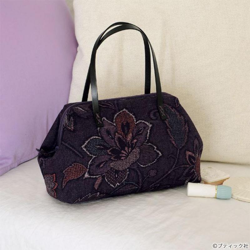 和布がおしゃれ「口金使いのミニハンドバッグ」の作り方