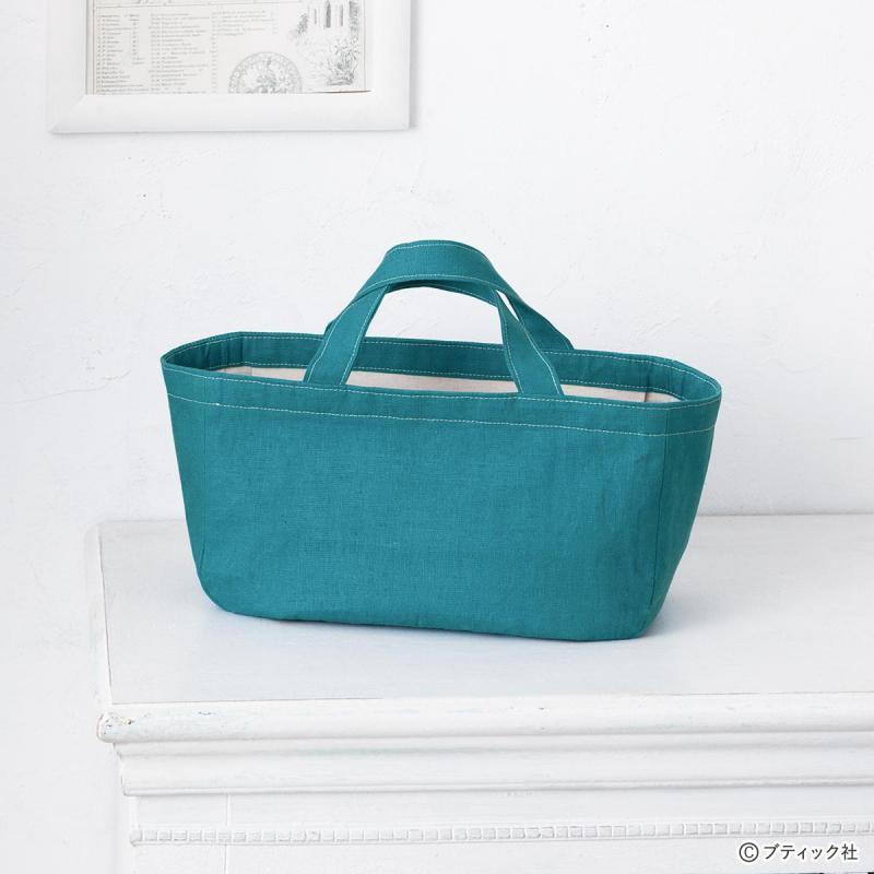 安心安全!おしゃれな蓋付きトートバッグの作り方