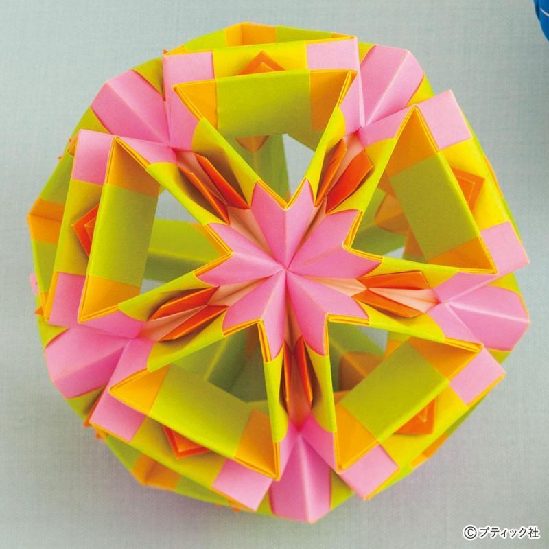 宝石みたいなユニット折り紙!「ジルコン×コティヨン」作り方