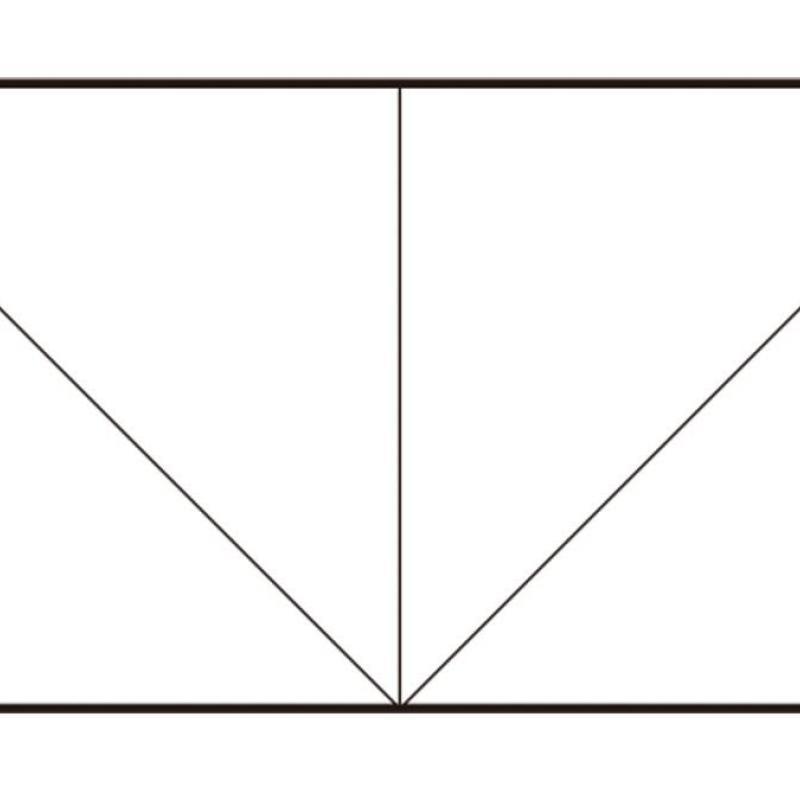 ユニット折り紙のパーツ「三角ピン」の作り方
