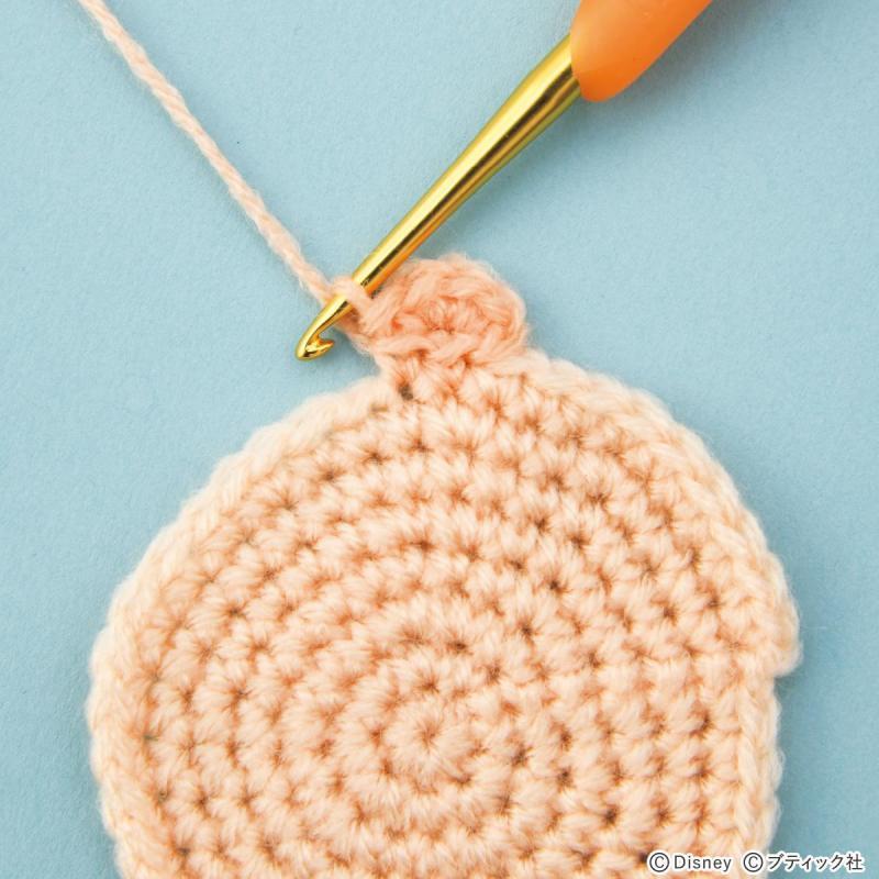 あみぐるみの基礎「耳の編み方」