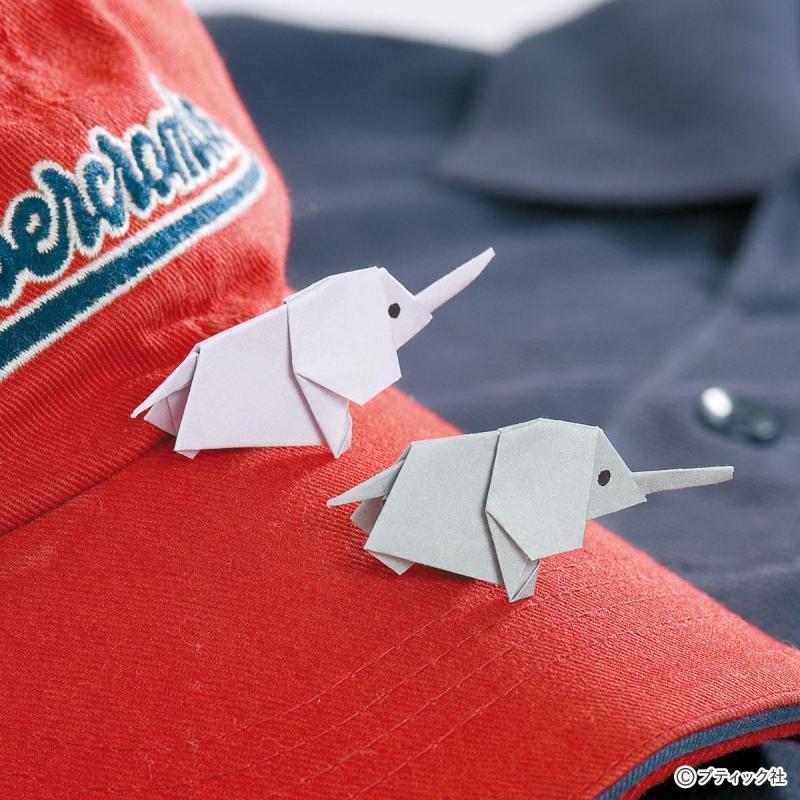 簡単折り紙!大きな耳がかわいい「ゾウ」の作り方