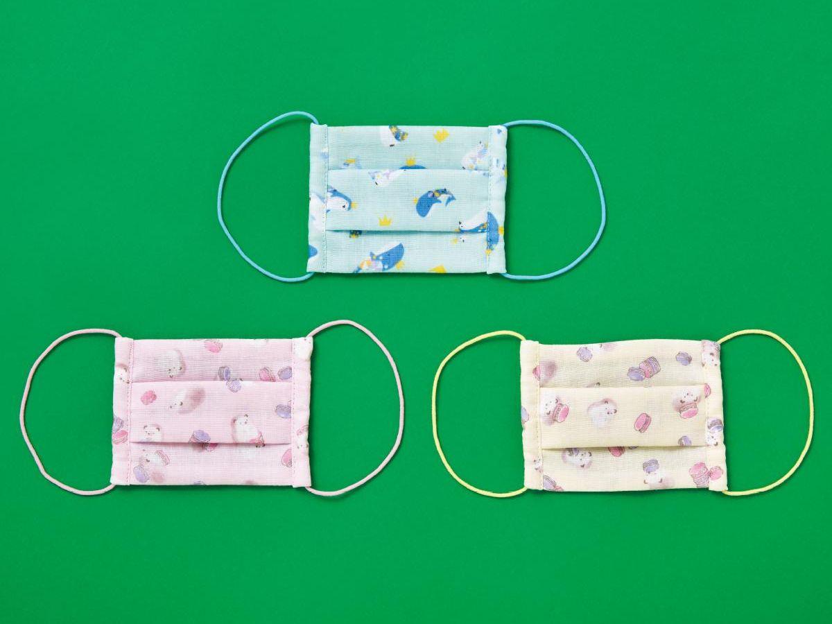 子供 用 布 マスク 作り方