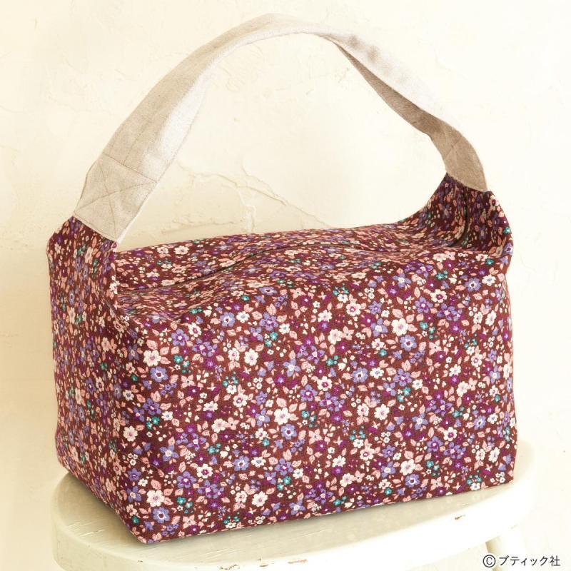 「ボックス型のバッグ」作り方