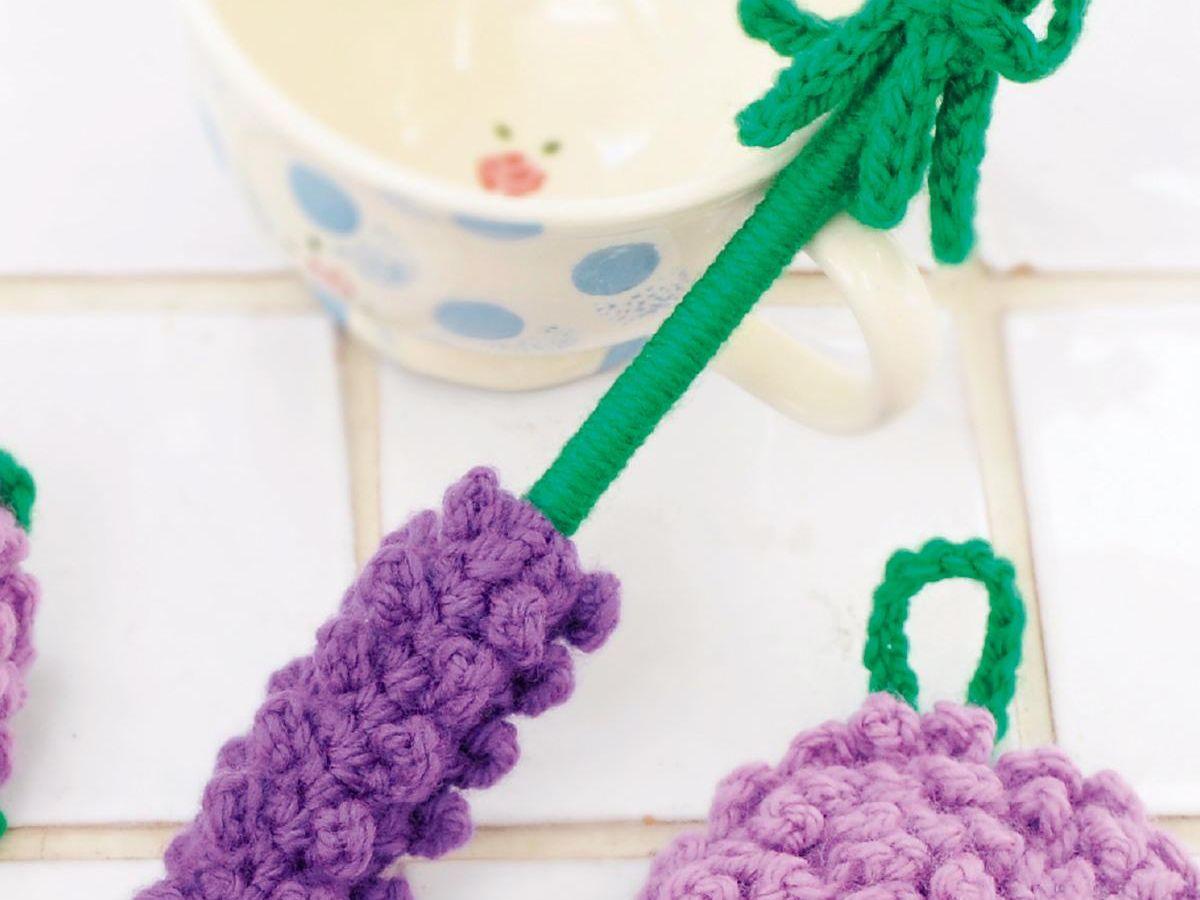 たわし 手編み アクリル 【アクリルたわし】手編み初心者でも簡単♪丸型エコたわしの編み方