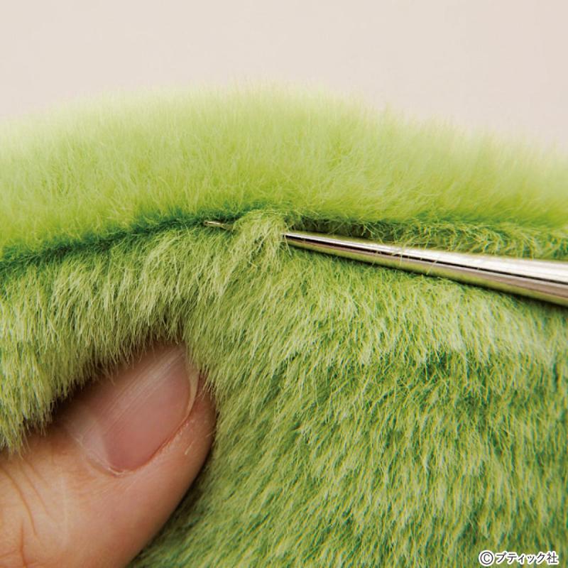 ソーイング(お裁縫)の基礎「フェイクファー・ボアの扱い方」について