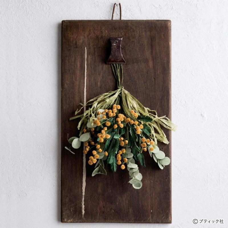 ペーパークラフトのお花「ミモザ&スワッグ」作り方