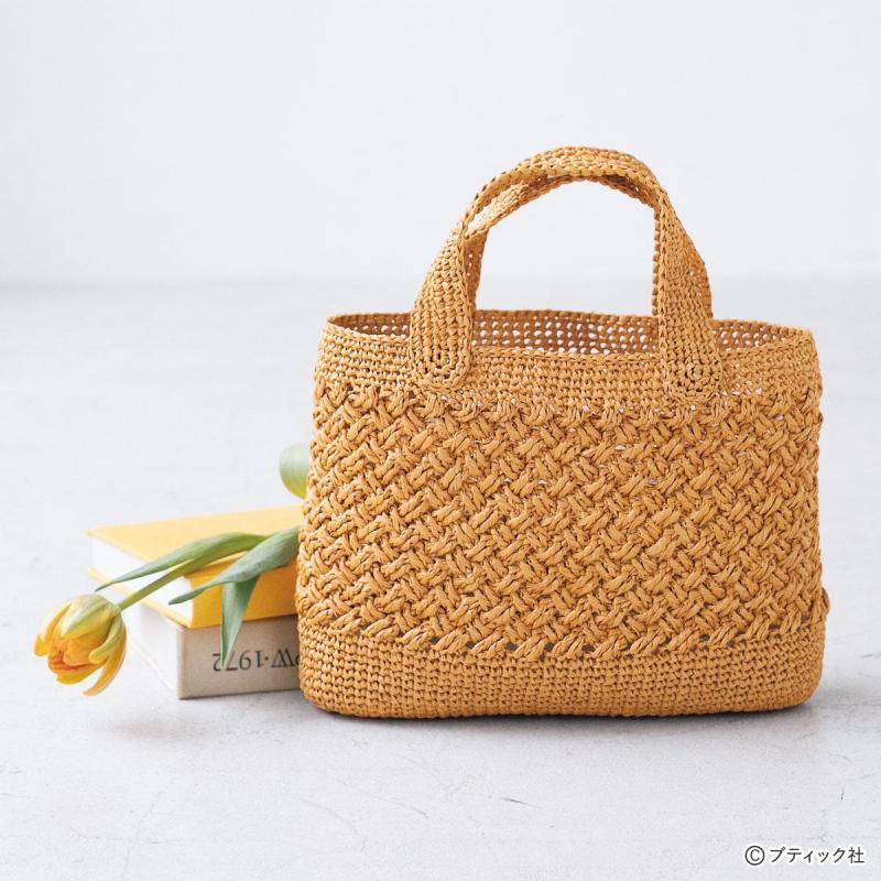 手編み エコアンダリヤの基礎「製図&かぎ針編みの編み方図の見方・ゲージ」について