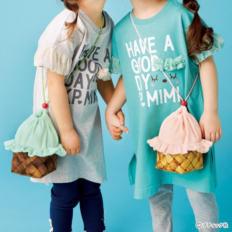 子どもの夏のお出かけに!「アイスクリームポシェット」作り方