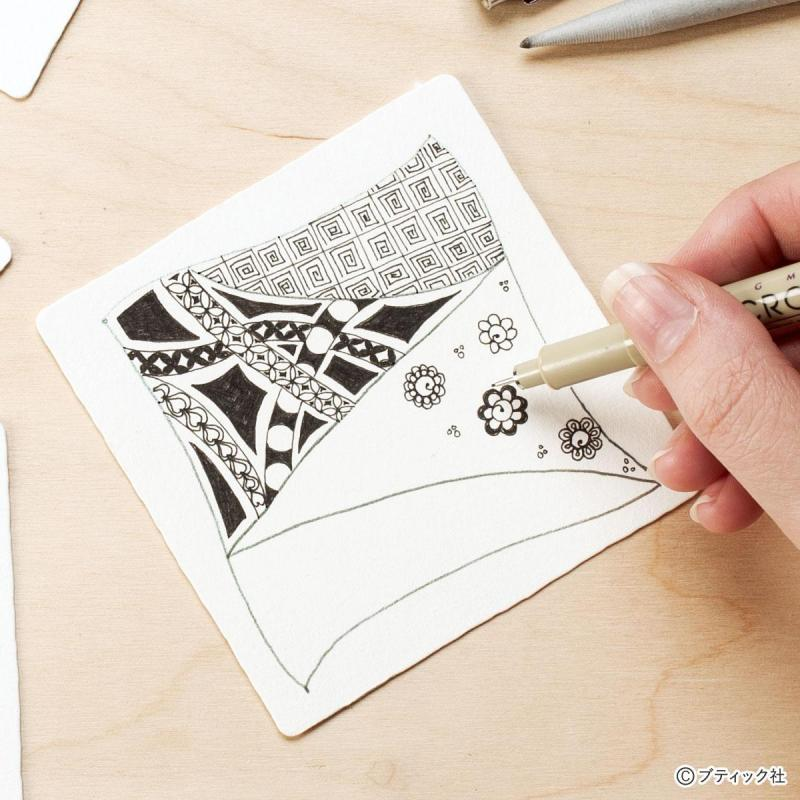 ペン1本でできるアート「ゼンタングル」の基礎について