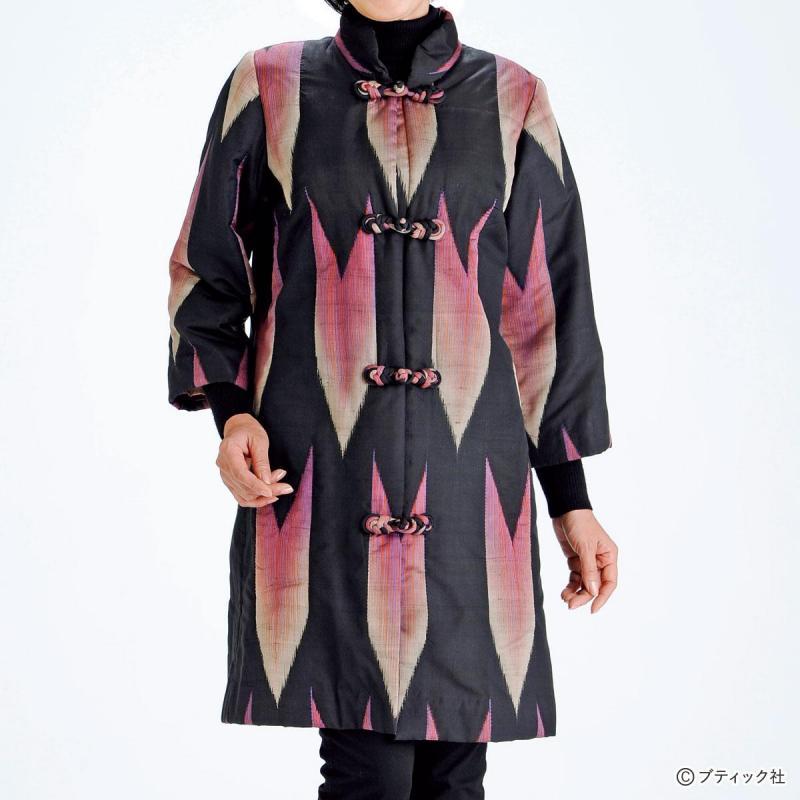 サスティナブルファッション「着物を使ったリメイクコート」作り方