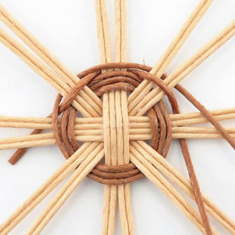 エコクラフト(R)の基礎「円形底の編み方」について