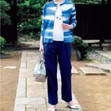 藍染めがおしゃれ!着やすいジャケット&パンツの作り方(ファッション)