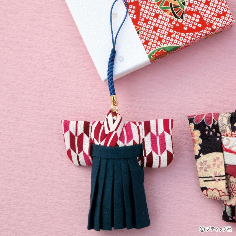 卒業卒園の記念に!「袴スタイルのストラップ」の作り方