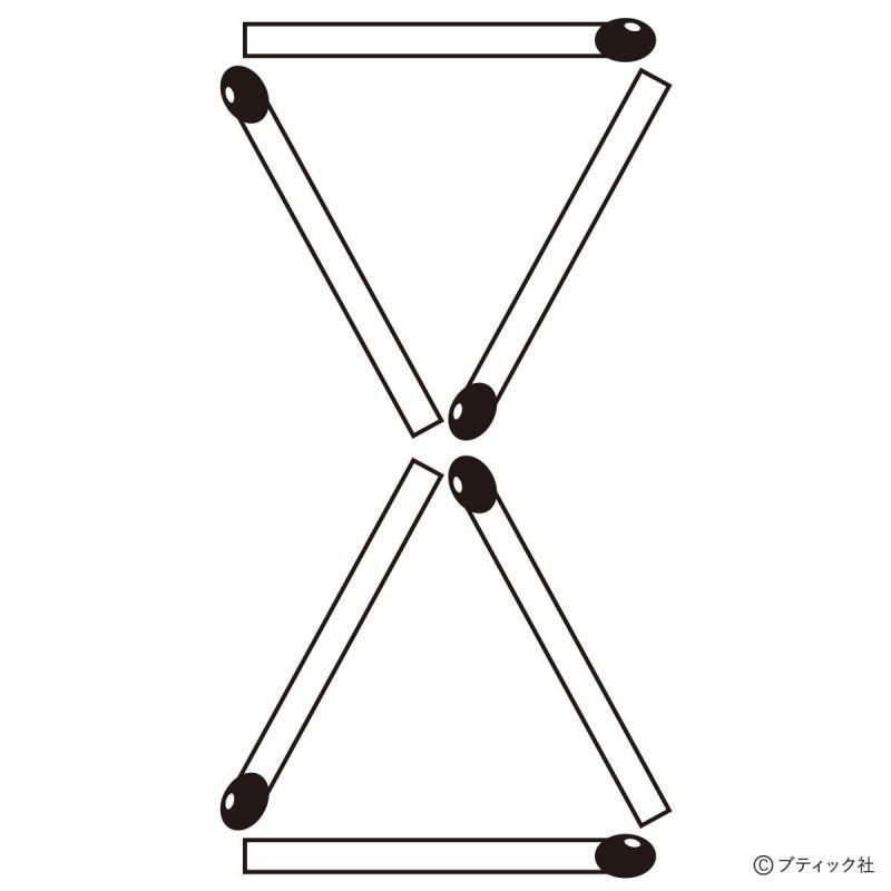 脳トレ「マッチ棒パズル」で推理力をテスト!