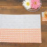 手ぬぐいで簡単に作れる!ランチョンマット&コースターの作り方(布小物)