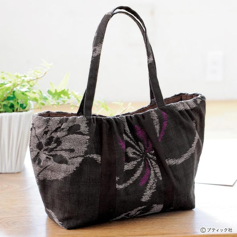 和布を使った「バッグインバッグになるミニバッグ」の作り方