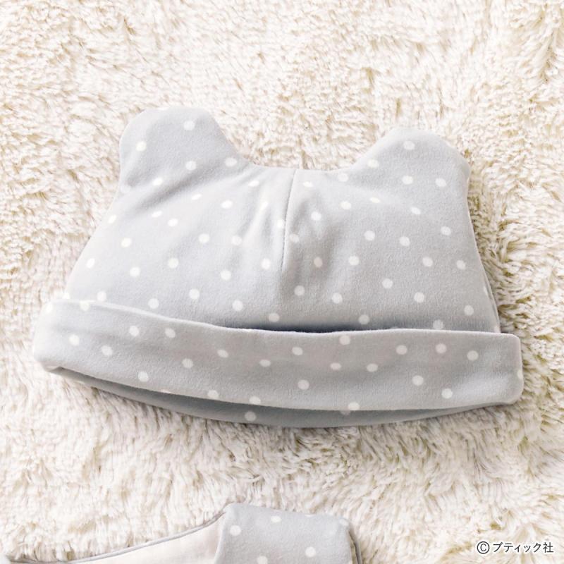 「赤ちゃん用のキャップ」の作り方