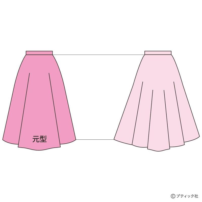 ソーイング(お裁縫)の基礎「型紙のサイズ調節の仕方(グレーディング)」