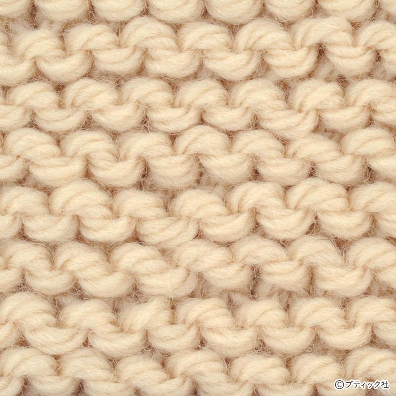 【編み物の基本】よく使われる「編み地」について│棒針