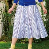 今シーズン流行シルエット!簡単手作りタックフレアスカートの作り方(ファッション)
