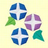 【折り紙】朝顔の折り方!簡単/子供向け
