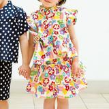 夏のお祭りに!女の子に着せたいかわいい甚平ドレスの作り方(子ども服)