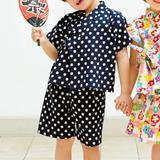 夏のお祭りに!簡単に手作りできる男の子に着せたいおしゃれな甚平の作り方(子ども服)