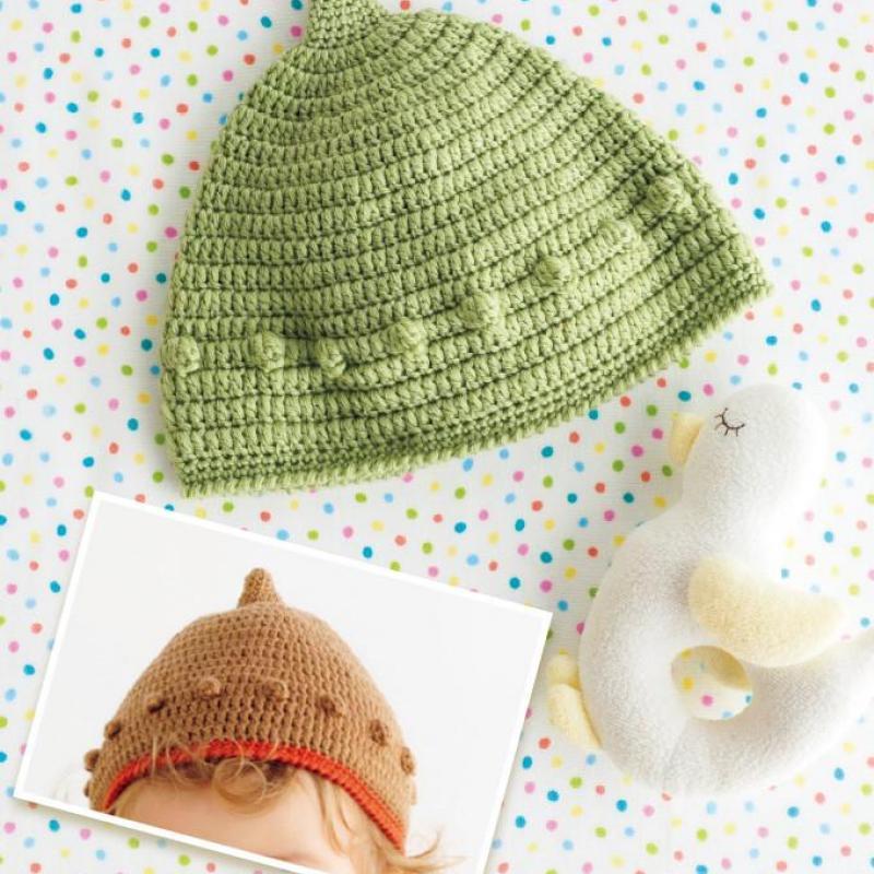 簡単!どんぐり帽子 編み図・編み方【まとめ7選】